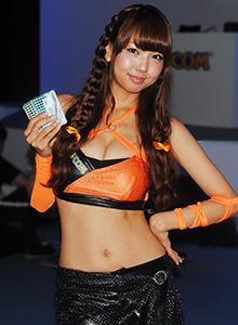 Las Booth Babes conquistaron el Tokyo Game Show 2013