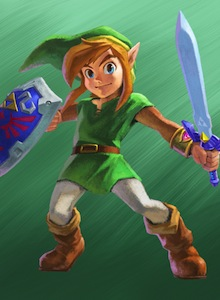 8 minutos de The Legend of Zelda A Link Between Worlds