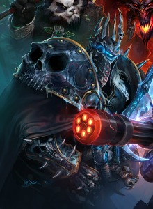[Blizzcon 2013] Arte de Heroes of the Storm, el MOBA de Blizzard