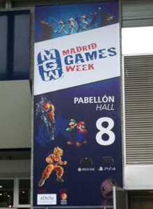 Crónica de la Madrid Games Week 2013