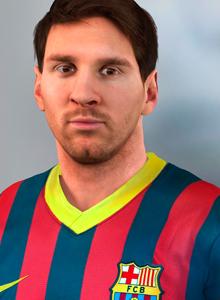 Métele un dedo en el ojo a Messi