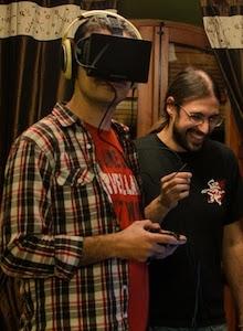 Camp Blogger: Impresiones sobre Oculus Rift con Izanami