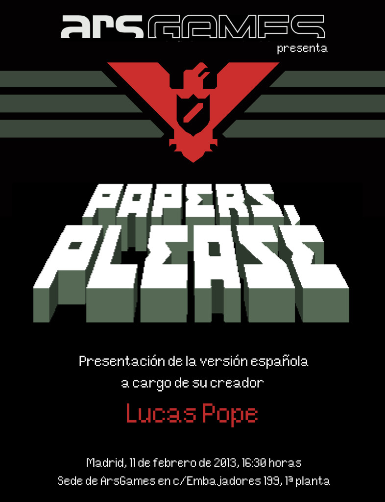 "Se lanzó ""Papers, Please"" en español"