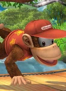 Diddy Kong confirmado en el nuevo Smash Bros