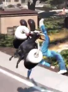 Increíble trailer de lanzamiento de Goat Simulator