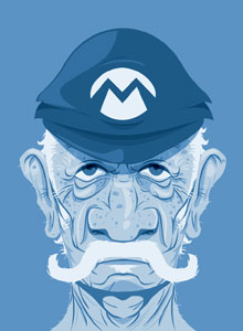 Old Mario by Roswell