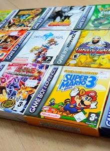 Manuales a color para los juegos de GBA en WiiU
