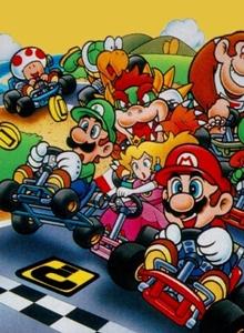 Infografía oficial de la saga Mario Kart