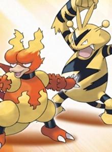 Consigue a Magmar y Electabuzz en Pokémon X/Y
