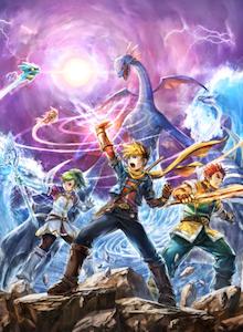 Golden Sun y F-Zero llegan a WiiU