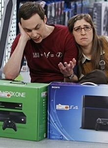 Sheldon Cooper escoge: ¿PS4 o Xbox One?