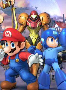 Super Smash Bros. para Wii U + 3 Amiibo en pack