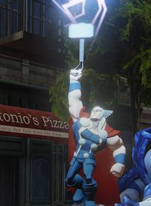 Disney Infinity 2.0, galería con personajes Marvel