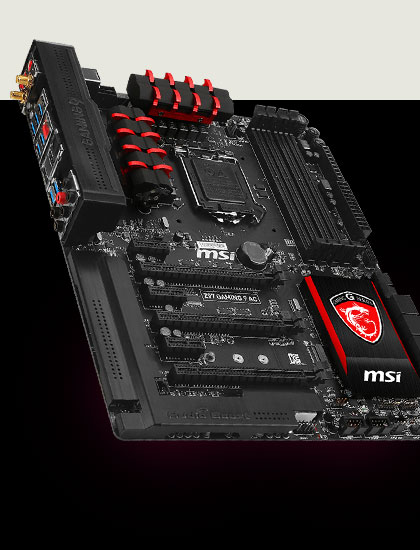 Análisis de la placa base MSI Z97 Gaming 9 AC