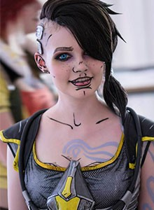 Desfile de cosplays basados en Borderlands the Pre-Sequel