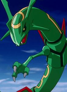 Mega-Rayquaza es confirmado para Pokémon RO/ZA