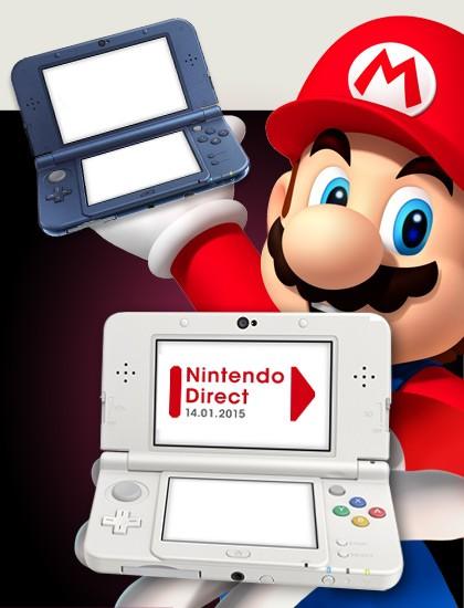 Resumen del primer Nintendo Direct de 2015. Todo muy New