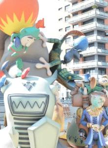 Fotos de la Falla de Zelda
