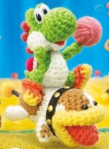 Yoshi's Woolly World ya tiene fecha y su propio amiibo de peluche
