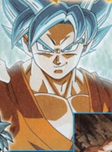 Os presentamos a Goku Super Saiyan God Super Saiyan. Como leéis.