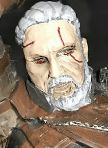 El downgrade de la figura de The Witcher 3