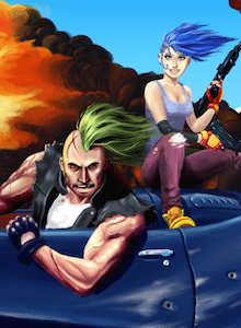 Izanami Gameworks presentando The End of The World