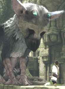 Un Trico gigante para promocionar The Last Guardian