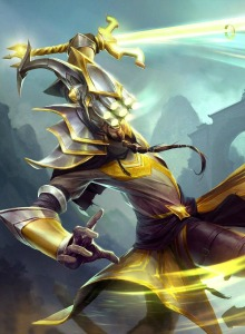 La espada de Master Yi de League of Legends se hace real