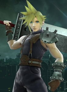 Cloud es puro fanservice en Super Smash Bros