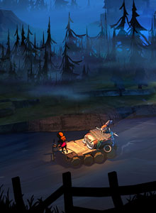 The Flame in the Flood, the Ol' man river