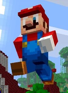 Super Mario Minecraft ya es una realidad