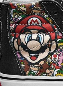 Las nuevas zapatillas de Nintendo y Vans son puro amor old school