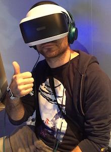 HTC VIVE y PS VR