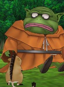 Jugando a Dragon Quest VIII para PS2