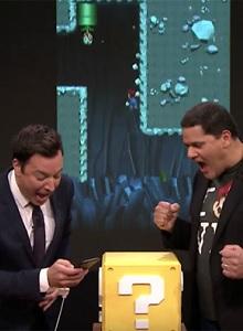 Nintendo presenta sus cartas en su visita a Jimmy Fallon
