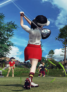 Everybody's Golf para PS4 tiene pinta de DROGA DURA