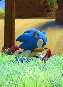 Sonic ha brillado pocas veces más que recorriendo Green Hill en Sonic Forces