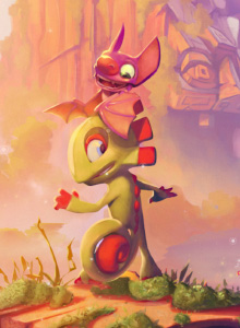 Yooka-Laylee and the impossible lair, una perspectiva que le sienta bien