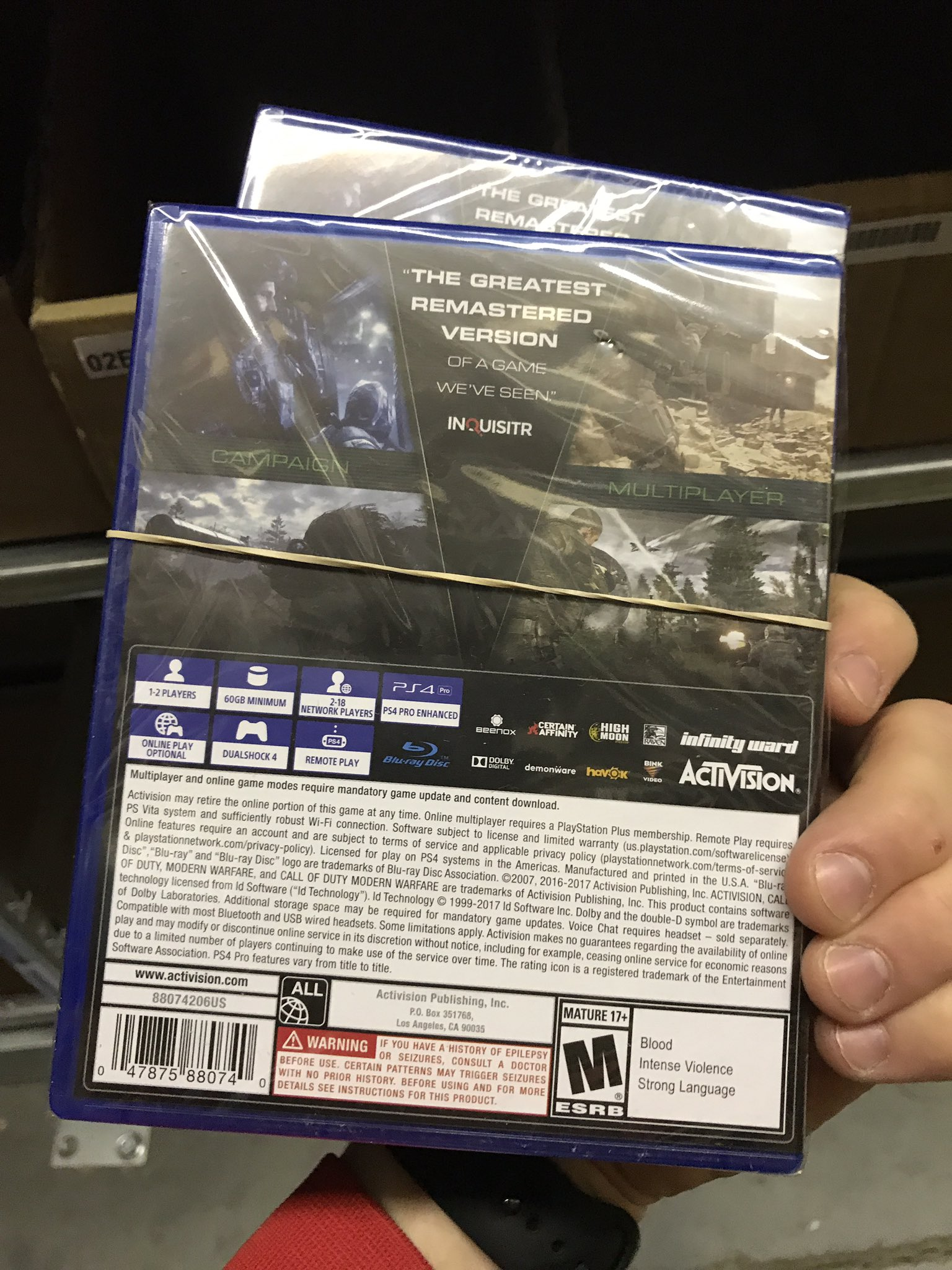 how to buy modern warfare remastered