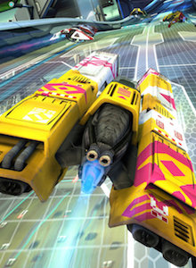WipeOut Omega Collection luce ESPECTACULAR