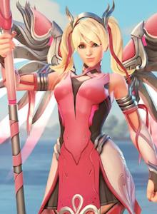 Una skin de Mercy de Overwatch para luchar contra el cáncer de mama