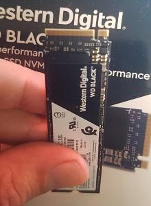 Análisis disco duro NVMe SSD Western Digital WD BLACK 1TB
