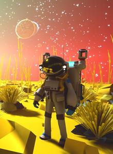 Astroneer: el simulador espacial minimalista