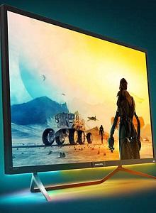 Análisis del monitor gaming Philips Momentum 4K HDR 43″ Ambiglow
