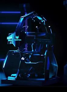 Acer va a por el público gaming con su nueva silla y su plataforma Planet9