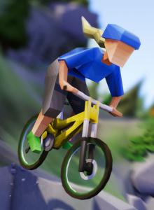 Análisis Lonely Mountains: Downhill, solos tú y tu bici