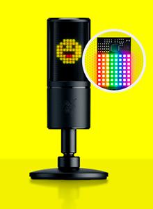 Razer Seiren Emote, el micrófono para streamers