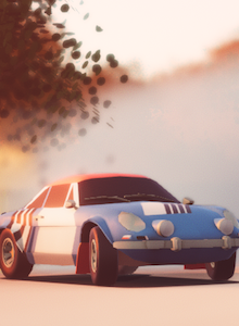 Impresiones con Art of Rally: Sega Rally meets Lonely Mountains