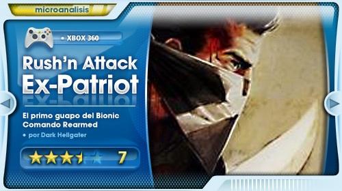 Análisis de Rush 'n' Attack: Ex Patriot para Xbox 360