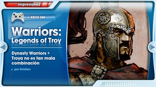 Impresiones con Warriors: Legends of Troy para Xbox 360